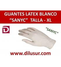 GUANTE LATEX SANYC T-XL 100 UND