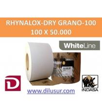ROLLO LIJA GRANO 100 100X50 MTS RHYNALOX-DRY