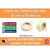 CINTA DE CARROCERO 18MM X 50 MTRS.
