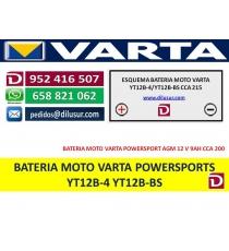 BATERIA YT12B-4 YT12B-BS
