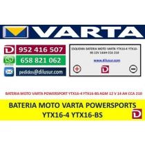 BATERIA YTX16-4/YTX16-BS
