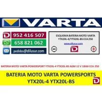 BATERIA YTX20L-4 YTX20L-BS
