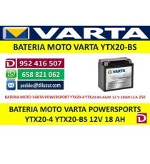 BATERIA YTX20-4 YTX20-BS
