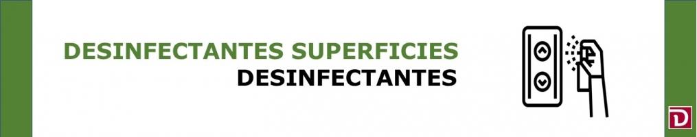 DESINFECTANTES SUPERFICIES