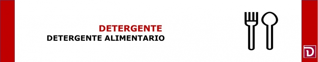 DETERGENTE ALIMENTARIO